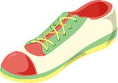 Shoe — Vector de stock
