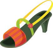 Shoe — Stock Vector