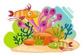 Animais marinhos — Vetorial Stock