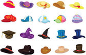 Sombreros mixtos — Vector de stock