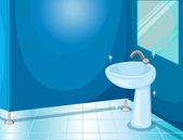 Casa de banho — Vetorial Stock
