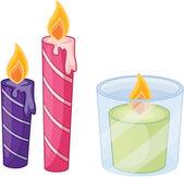 蜡烛 — 图库矢量图片
