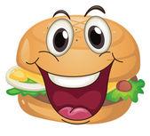 Burger — Stock Vector