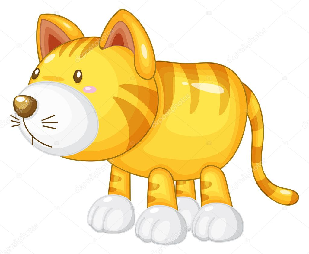 Illustration of animal on a white background  Stock Vector #9993634