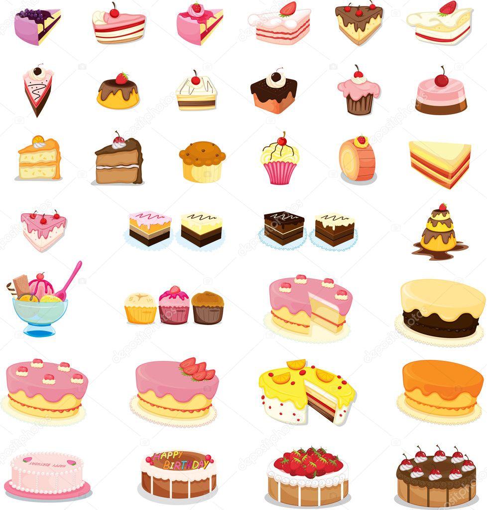 Desserts Ice Cream Wallpapers: Stock Vector © Interactimages