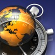 The World on Time — Foto de Stock