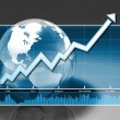 Increasing Global Markets - Stock Photo