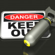 Royalty-Free Stock Photo: Dangerous Area
