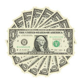 Jednego dolara rachunek — Zdjęcie stockowe