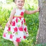 Baby standing — Stock Photo #10033513
