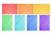 Painted walls of all the colors of the rainbow — Stock Photo