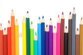 Set of color pencil — Stock Photo