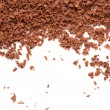 Stock Photo: Scattered grated chocolate