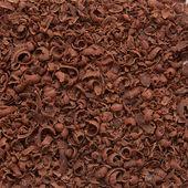 Grated dark chocolate — Stock Photo