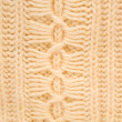 Close up detail of knitted wool — Stock Photo