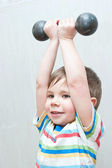 Healthy lifestyle child — Stock Photo