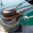 Stock Photo: Harbor mooring