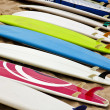 Stock Photo: Surfboards