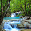 Erawan Waterfall, Kanchanaburi, Thailand — Stock Photo #9883684
