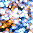 Abstract Bokeh light blur background — Stock Photo