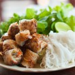 Laos stye spring roll — Stock Photo