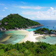 Koh Nang yuan Island,Surat,Thailand — Stock Photo