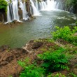 Tad Pha Suam waterfall,champasak,  Laos — Stock Photo