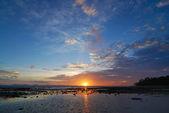 Sunset over the sea, Phuket,Thailand — Stockfoto