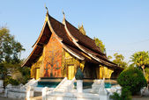 Wat Xieng thong temple,Luang Pra bang, Laos — Stock Photo