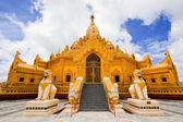 Swe Taw Myat, Buddha Tooth Relic Pagoda, Yangon,Myanmar — Stock Photo