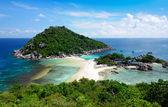 Koh Nang yuan Island,Surat,Thailand — Stock Photo