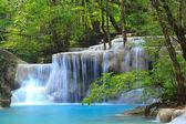 Erawan Waterfall in Kanchanaburi, Thailand — Stock Photo