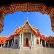 The Marble Temple(Wat Benchamabophit ), Bangkok, Thailand — Stock Photo