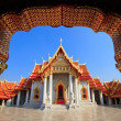 The Marble Temple(Wat Benchamabophit ), Bangkok, Thailand - Stock Photo