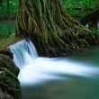 Waterfall in deep forest of Krabi,Thailand — Stock Photo #9932474