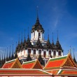 Royalty-Free Stock Photo: Loha Prasat, Metal palace in bangkok,Thailand