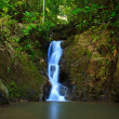 Waterfall in the jungle, Phuket, Thailand — Stock Photo #9939645