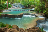 Kuang Si Waterfall, Luang prabang, Laos — Stock Photo