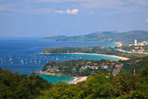 Bird eye view of Phuket, Thailand — Stock Photo