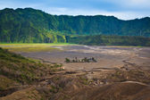 Pura Luhur Poten temple. Mount Bromo volcano, East Java, Indones — Stock Photo