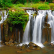Tad Pha Suam waterfall, Laos — Stock Photo