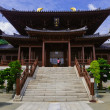 Chi lin Nunnery, Tang dynasty style Chinese temple, Hong Kong - Stock Photo