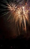 Den nezávislosti ohňostroj — Stock fotografie