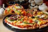 Vegan Pizza — Stock Photo