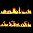 Fire and flames — Stock Photo #9973003