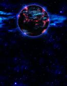 Planet x nibiru version 2 — Stock Photo