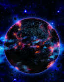 Planet x nibiru version 1 — Foto de Stock