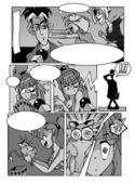 Manga page 1 — Stock Photo