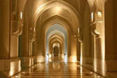 Sultanate of Oman, Archway - oriental architecture — Stock Photo