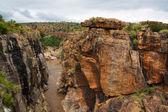 Blyde River Canyon bridge — Stock Photo